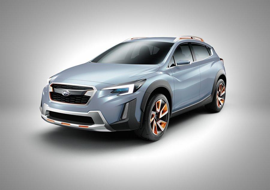 Мировая премьера Subaru XV Concept в Женеве